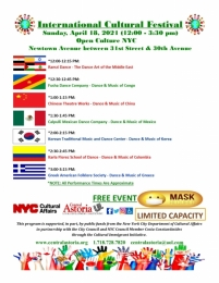 """International Cultural Festival"" - NYC Open Culture Program"